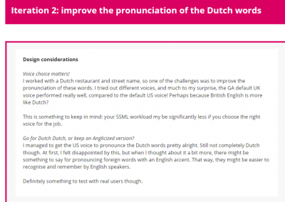 Iteration 2: improve Dutch pronunciation