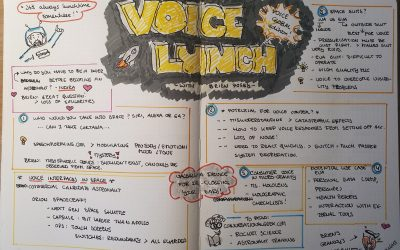 Visual notes – voicelunch