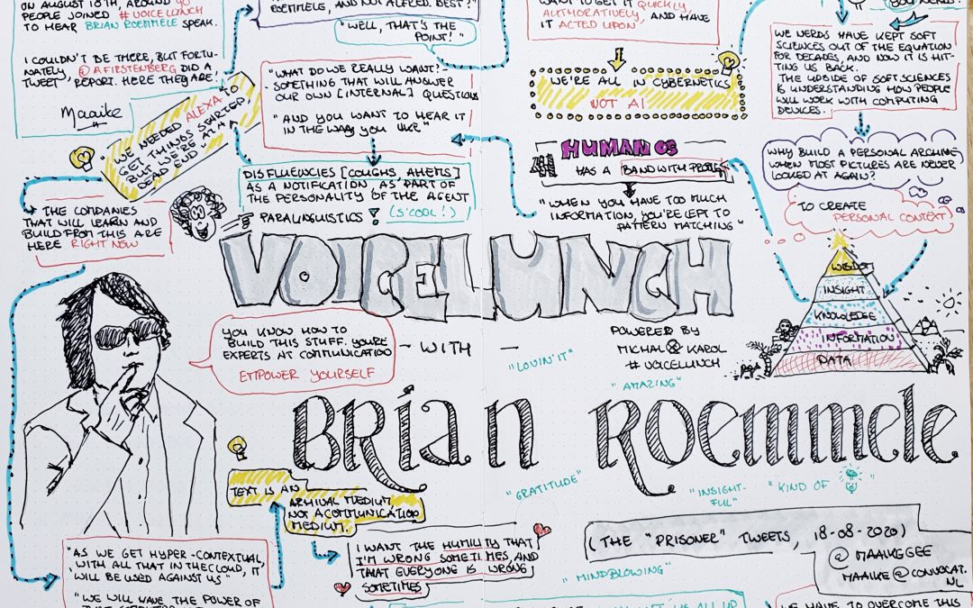Voicelunch with Brian Roemmele